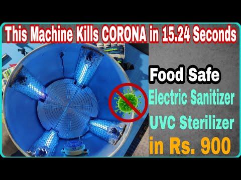 making-uvc-electric-sanitizer-that-kills-corona-|-making-uvc-sterilizer-uvc-disinfectant