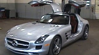 2011 Mercedes Benz SLS AMG Interior Videos