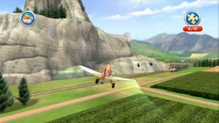 Disney S Planes Free Flight Mode Propwash Junction All 10 Puzzle Pieces With Dusty Crophopper Youtube
