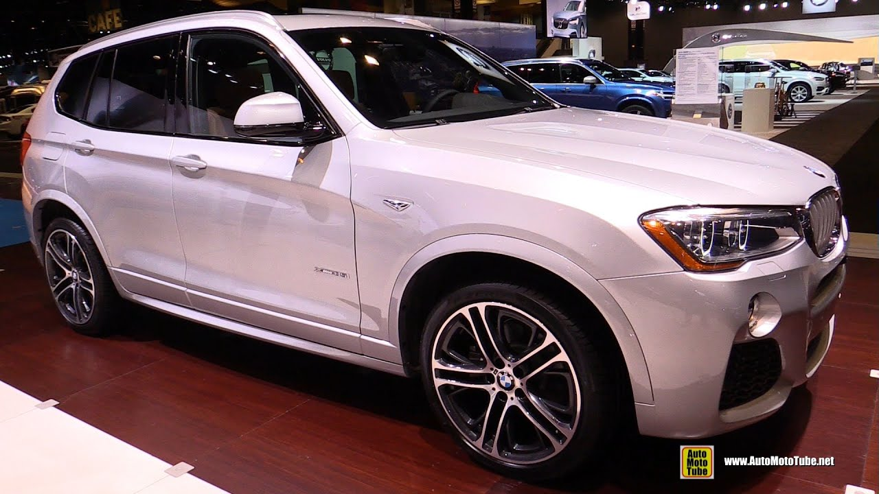 2016 Bmw X3 Xdrive 35i M Sport Exterior And Interior