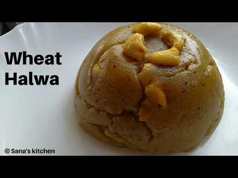 wheat-halwa-|-atta-ka-halwa-|-simple-wheat-flour-halwa|-wheat-halwa-using-jaggery|-sana's-kitchen