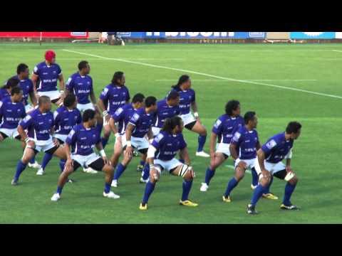 ラグビー サモア代表 試合前儀式 シヴァタウ(rugby samoa haka)