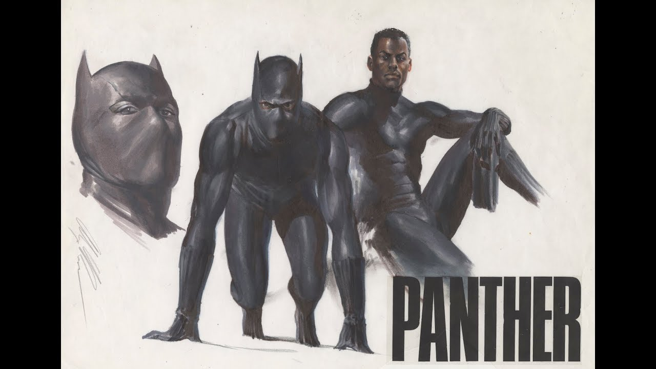 Exclusive Behold Alex Ross Breathtaking New Black Panther Fine Art Litho