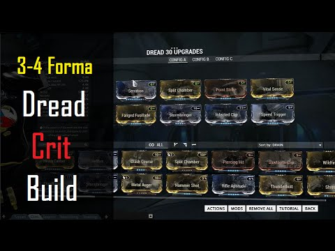 Dread Warframe Build