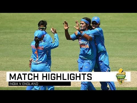 Kaur Guides India To Final-over Win | CommBank T20 INTL Tri-Series