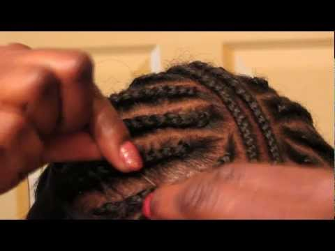 To Sew In Weave Tracks For Invisible Part Sew In Step By Step Tutorial ...