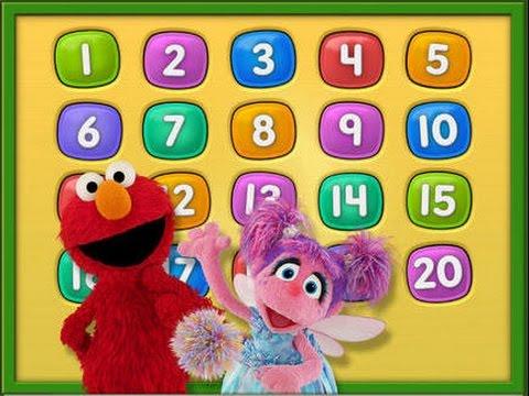 Elmo Loves 123s - iPad app demo for kids - Ellie