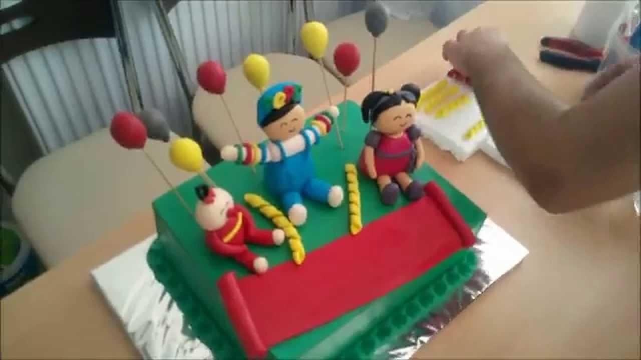 Uğur Böceği Pasta Resimli Videosu
