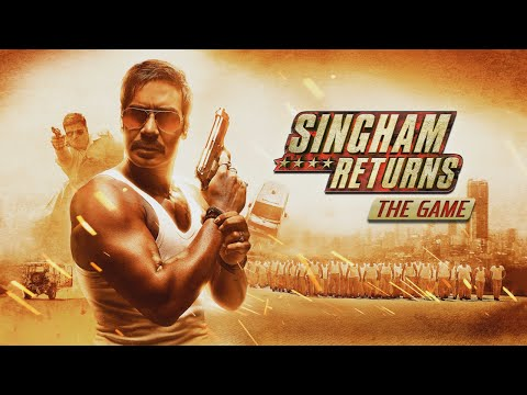 Singham Returns The Game Android GamePlay Trailer (HD