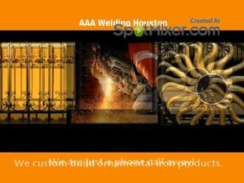 AAA - Welding Houston - Custom Welding Services 832-573-2336