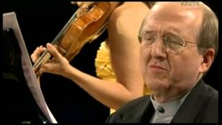 Mozart, Violinsonate F Dur KV 376   Anne Sophie Mutter Violine), Lambert Orkis (Klavier)