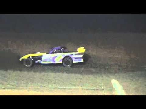 Ark La Tex Speedway ZERO Cancer Night Pro Mod A feature 4/2/16
