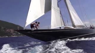 J-class Yacht - Shamrock V - by Kev Jones - Sailingpics.com