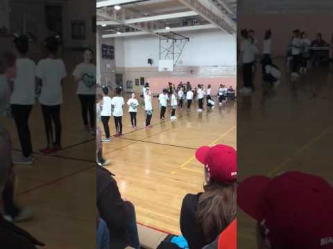 Carrcroft elementary school cheerleaders