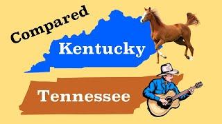 Кентукки и Теннесси по сравнению