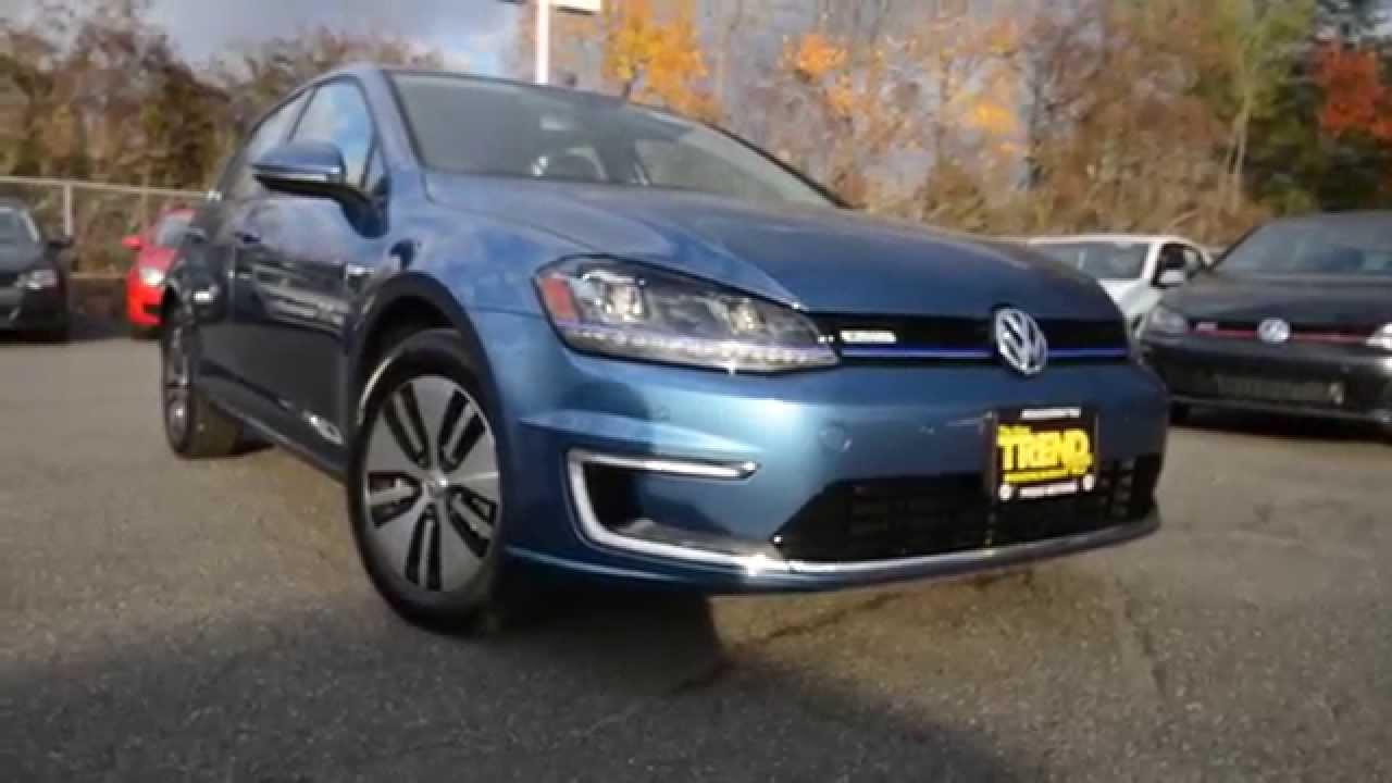 Brand New 2015 Volkswagen E Golf Electric Mk7 Walk Around