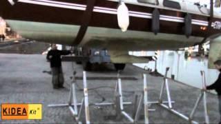 Kideakit Bers De Bateau - Cradles - Boat Stands