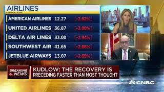 White House economic advisor Larry Kudlow: Stimulus talks have slowed, but not ended
