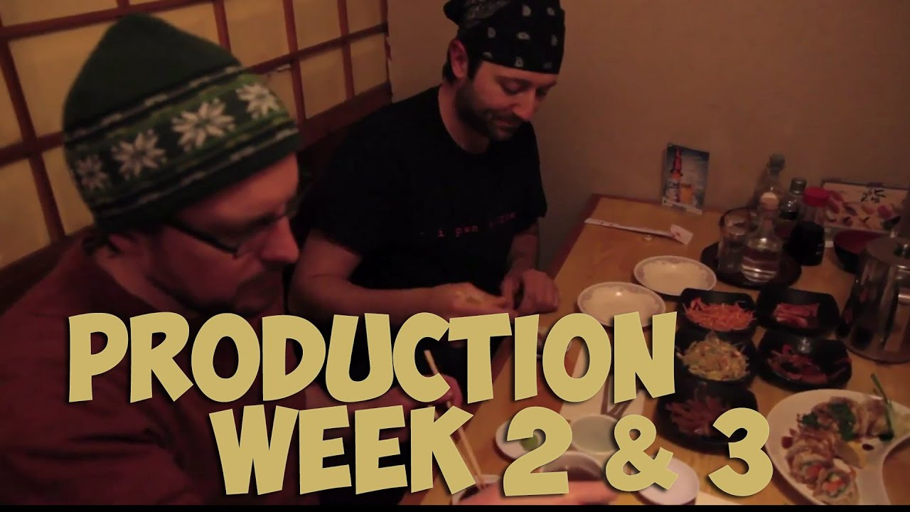 pure pwnage teh movie production weeks 2 amp 3 youtube