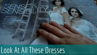 ASMR Soft Spoken - Relaxing Bridal Magazine Flipping