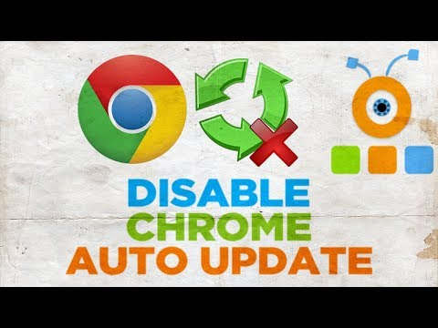 How to stop automatic updates on google chrome