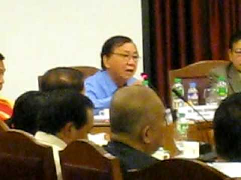 Roilo Golez debates with Sim Datumanong on quorum issue, Ombudsman impeach case, 28 April 2009