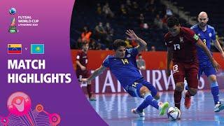 Venezuela v Kazakhstan FIFA Futsal World Cup 2021 Match Highlights