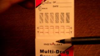 Multi Panel Drug Test Results What Do Faint Lines Indicate
