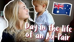 A day in the life of an Au-Pair |  WORKING WEEKEND