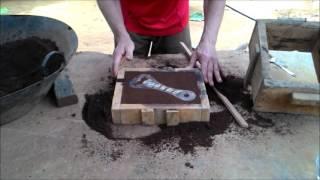 TUTORIAL - Como fazer uma peça de alumínio fundido passo a passo