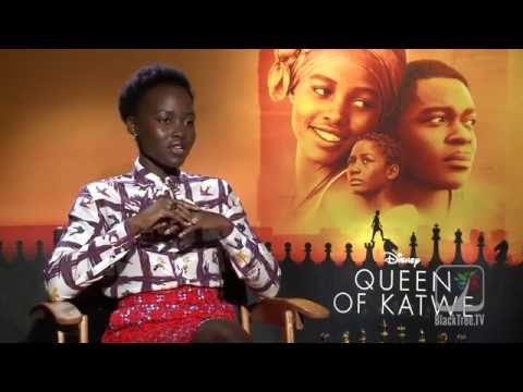 Lupita Nyong'o Interview Queen of Katwe