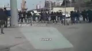 Incredibile! Dopo gli scontri tra ultras, Catanesi e Catanzaresi cantano per la libertà degli ultras