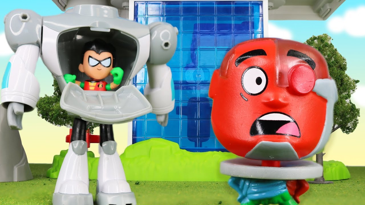 Teen Titans Go - Power Moves Parody Robin Transforms Into -1290