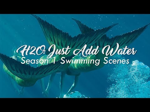 H2o just add water all season 1 swimming scenes hd for H2o seasons