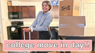 MOVING into my COLLEGE APARTMENT! *part 1*