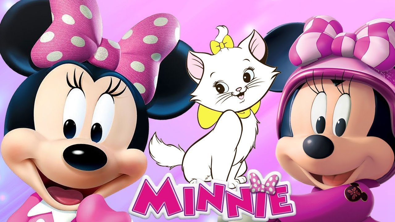 Disney Coloring Pages App : Minnie mouse happy helpers coloring pages animal cat rescue