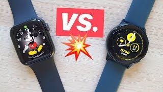 Apple Watch 4 Vs Galaxy Active  Apple Pierde