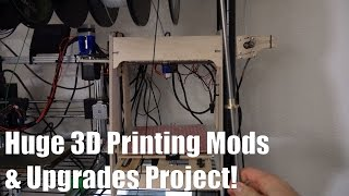 Plans For My Biggest 3d Printer Upgrade Project | Prusa I3 Overhaul