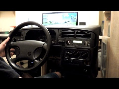 Homemade Cockpit For Euro Truck Simulator 2 - Racing Games