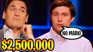Guy Declines $2.5 Million Dollar Offer, Sharks Get Furious (Shark Tank)