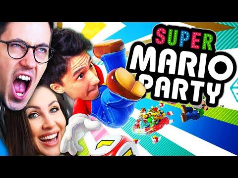Mario Party mit @HandOfBlood (schlecht) und @Gnu (auch sehr schlecht)