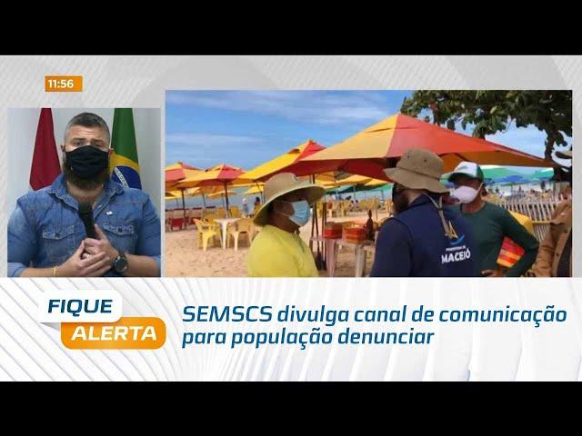 Operação Mar Azul: SEMSCS divulga canal de comunicação para população denunciar irregularidades