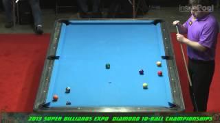 Billiards - Mike Dechaine vs Earl Strickland at the 2013 Super Billiards Expo