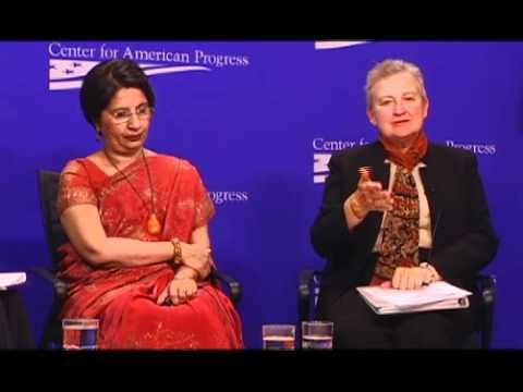 Framing the U S  India Strategic Dialogue A Conversation with Ambassadors Nirupama Rao and Nancy Powell at the Center for American Progress, Washington DC