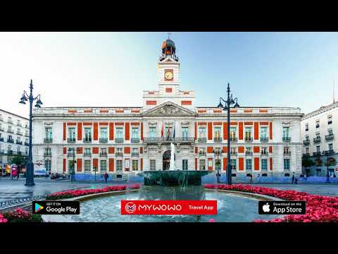 Puerta Del Sol And Calle Arenal – Puerta Del Sol 1 – Madrid – Audio Guide – MyWoWo Travel App
