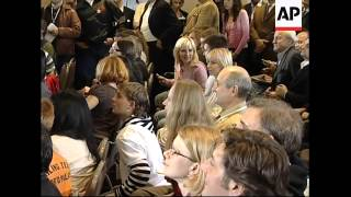 WRAP Exit poll, analyst, polls close, Yanukovych, Tymoschenko pressers