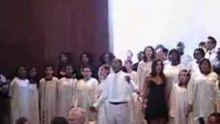 O happy day, bride meets groom