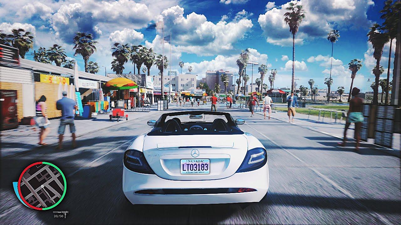 ◉ GTA 5 - 8k Resolution 60FPS 2x RTX 2080 Ti SLI Ultra Gaming PC! *NEW  2019* Real-Life Graphics Mod!