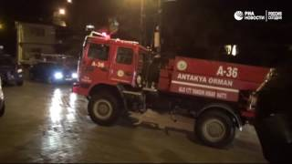 Крушение самолета ВВС Сирии в Турции