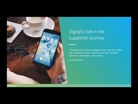 How to create an amazing supporter experience with digital